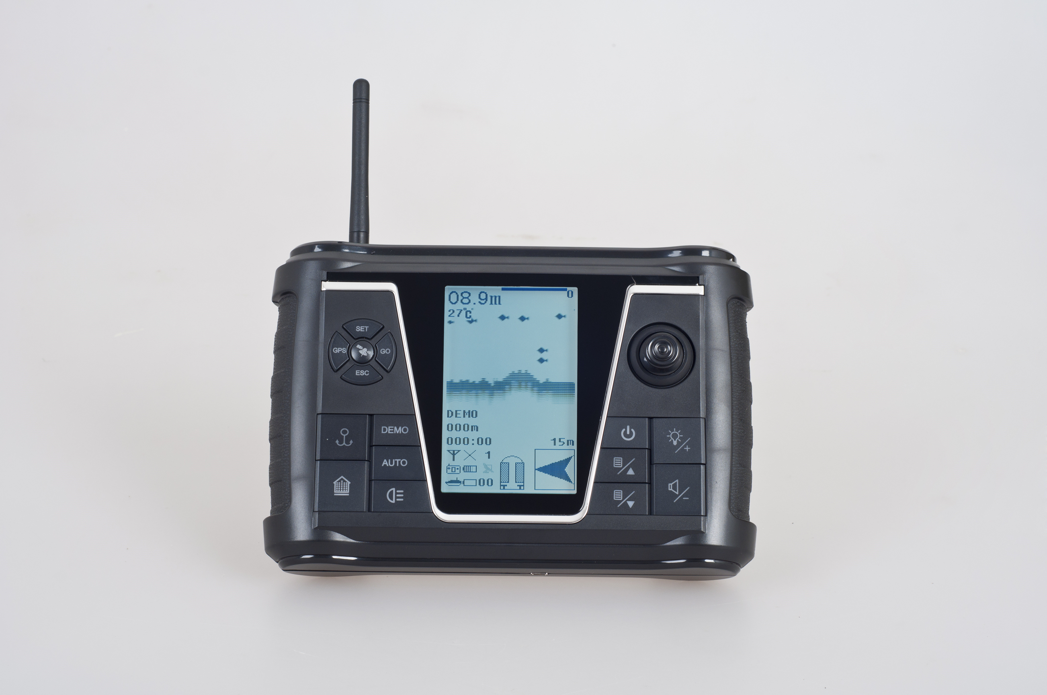 Bait Boat Parts For Remote Control Handset With High Resolution LCD, Full Digital Duplex